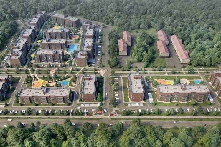 пос. Ложок, Солнечная, 1 стр, жилой комплекс «Да Винчи»