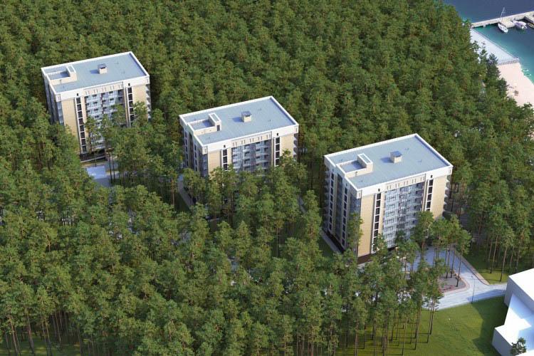 МК Сибиряк территория, 10 стр, жилой комплекс «Речкуновский парк»