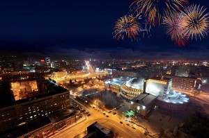 Новогодние каникулы в Новосибирске