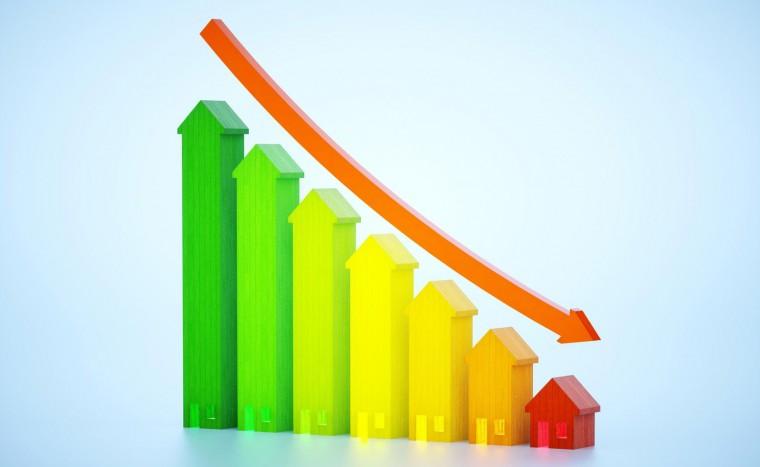 Тенденция: объемы ввода жилья падают