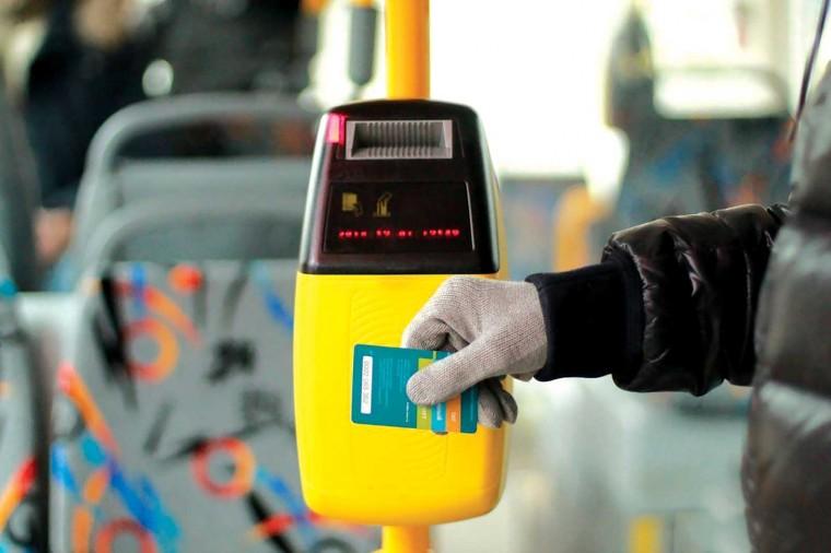 «Цифра» приходит в общественный транспорт