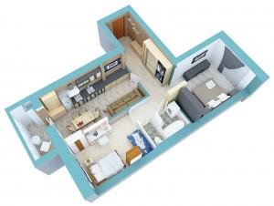 Квартиры для семей с детьми: трешки