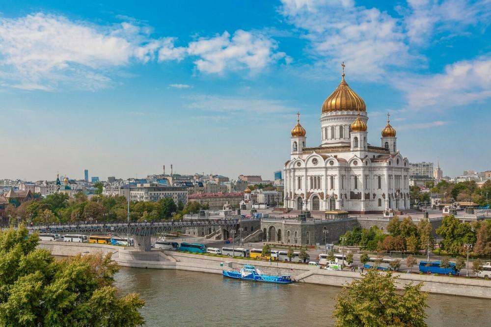 Потрясающие виды на Кремль из дома на Набережной