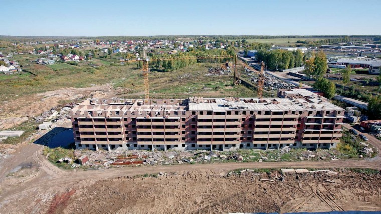 В Новосибирске сокращается ввод жилья