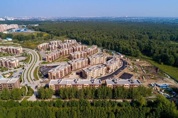 п. Краснообск, 7-й микрорайон, жилой комплекс «Бавария» (4 очередь)