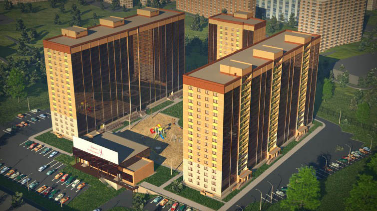 Мясниковой, 6 стр (дом 3), жилой комплекс «Стрижи на Родниках»