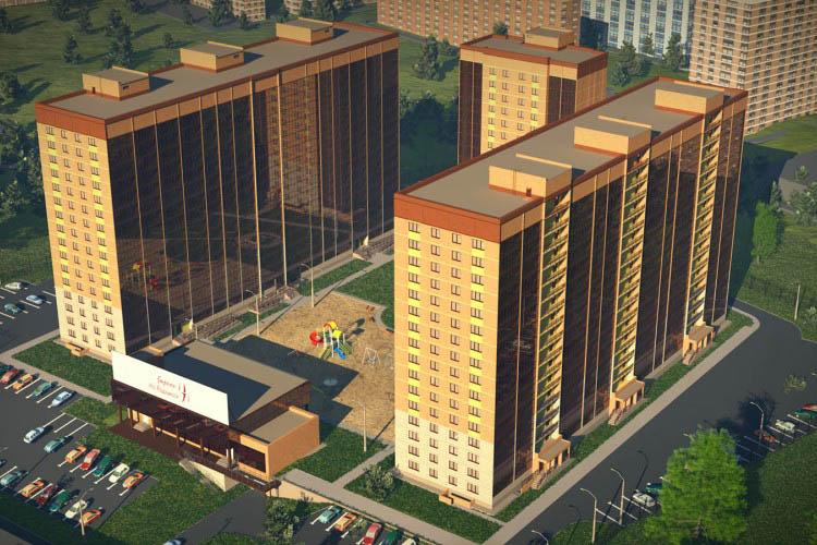 Мясниковой, 6 стр (дом 2), жилой комплекс «Стрижи на Родниках»