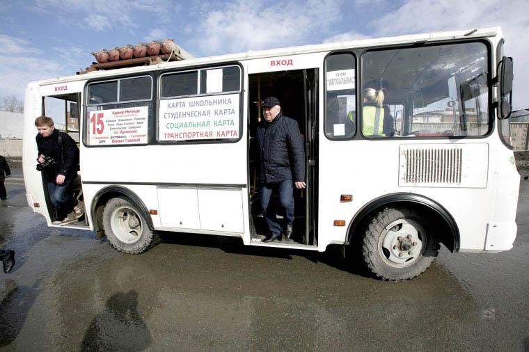 15 автобус Новосибирска