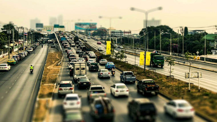 Пробки на дорогах: наши в топ-50