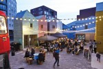 Blue House Yard Jan Kattein Architects