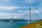 Мост на острове Русский во Владивостоке