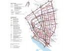 планировки территории с отображением линий, обозначающих дороги, улицы, проезды, линии связи, объекты инженерной и транспортной инфраструктур, проходы к вредным объектам общего пользования и их береговым полосам