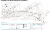 Заельцовский парк: Транспортная схема парка в летний период