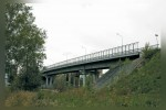 Мост через шлюз ГЭС