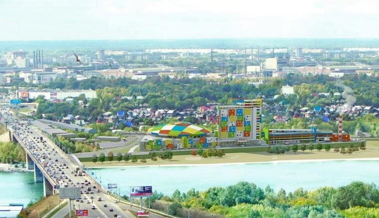 Новосибирск выйдет к реке