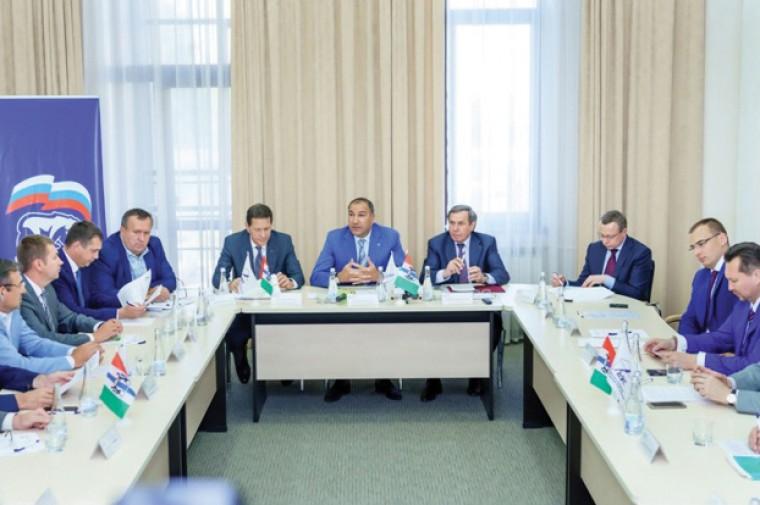 Заседание Регионального делового клуба строителей