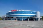 Трактор, Челябинск, Ледовая арена «Трактор»,  вместимость 7 500 зрителей, открыта в 2009 г.