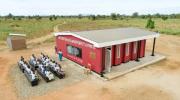Первая в мире школа построенная методом 3D-печати в Малави, Африка. Фото: Бенни Ханйизира