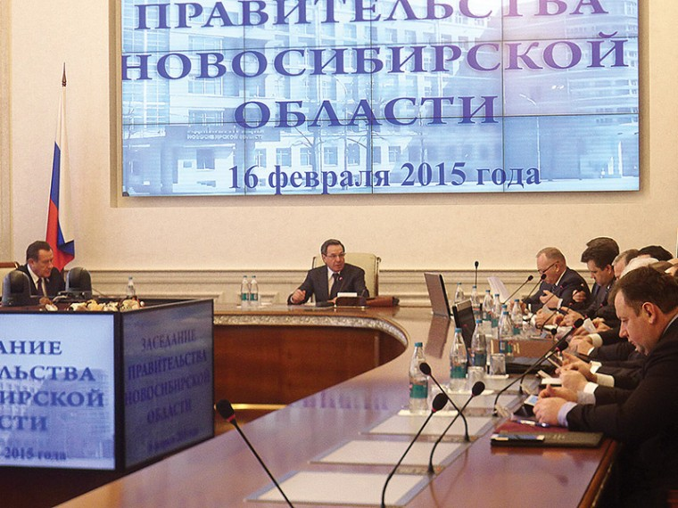 Заседание в правительстве по ЖКХ