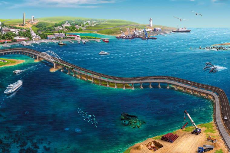 Керченский мост – прямая дорога в Крым