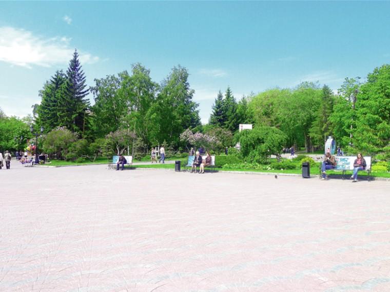 Зеленые зоны Новосибирска