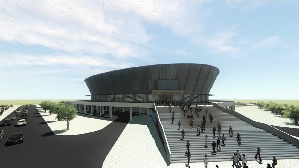 Строить ледовую арену в Новосибирске начнут через год