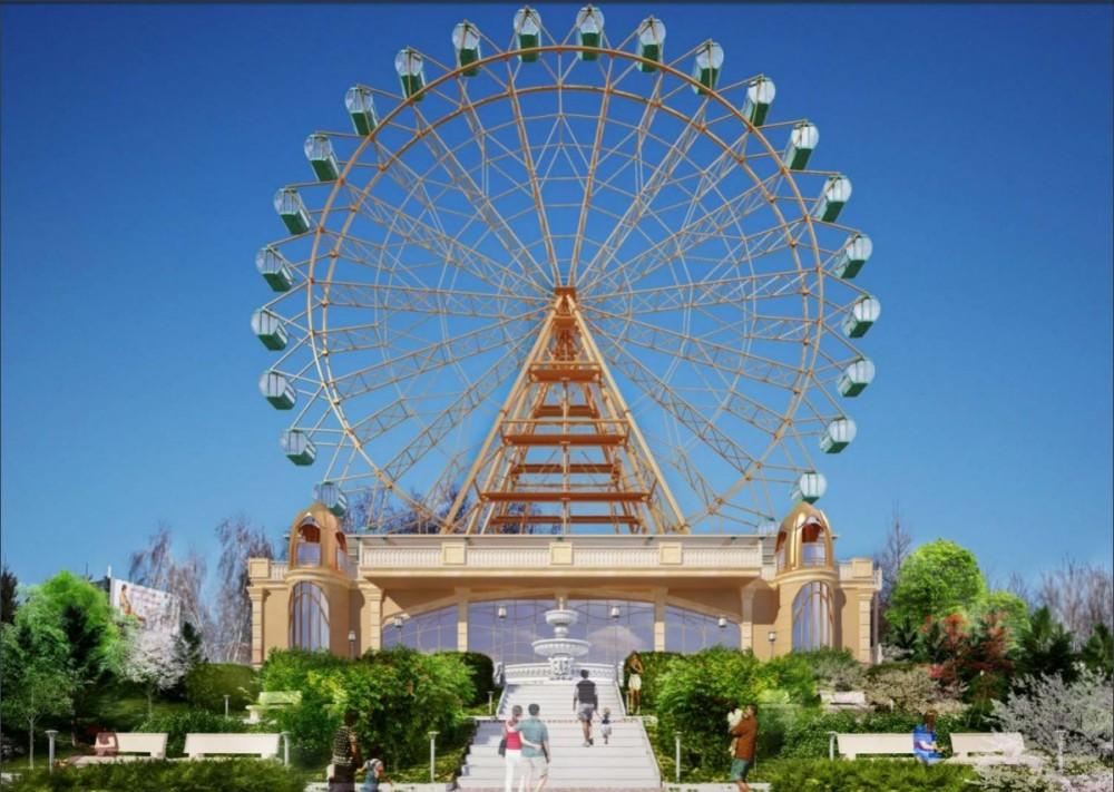 На Михайловской набережной планируют запустить гигантское колесо обозрения