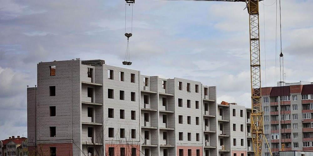 Объем строительства станут измерять  квартирами