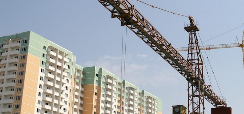 В России снизился на 4%  ввод многоквартирных домов