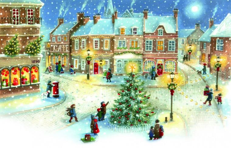 Российские новогодние традиции: от елки до снежных городков