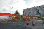 Детская площадка в Кировском районе
