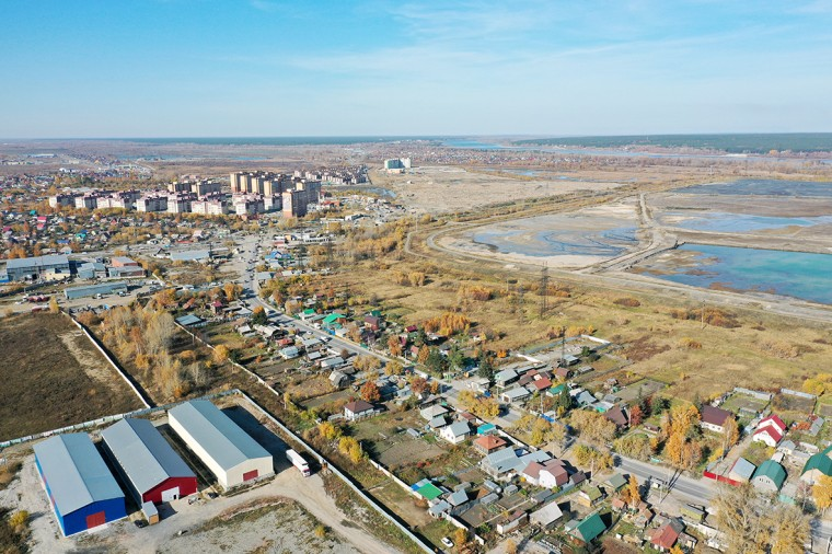 Новомарусино панорама Новосибирск
