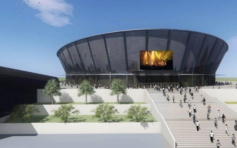 Травников: ледовый дворец в Новосибирске необходимо построить в срок