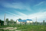 Футбольная площадка в селе Ленинское
