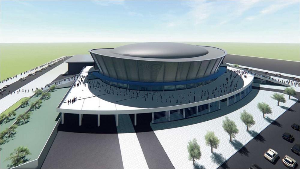 Работы по строительству Ледовой арены в Новосибирске начнутся в течение месяца