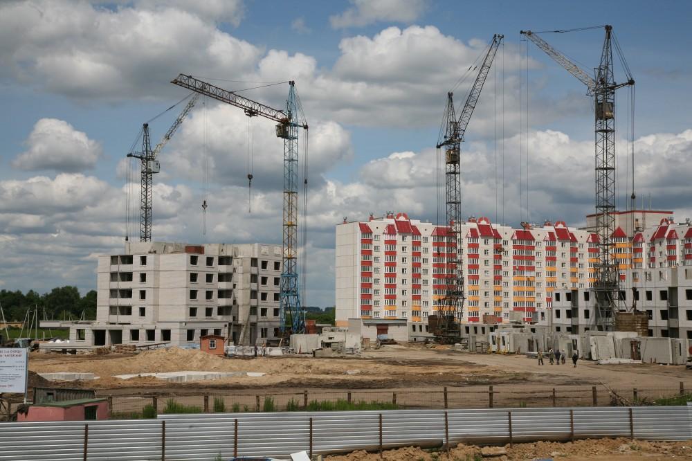 В России на 4% вырос объем ввода жилья