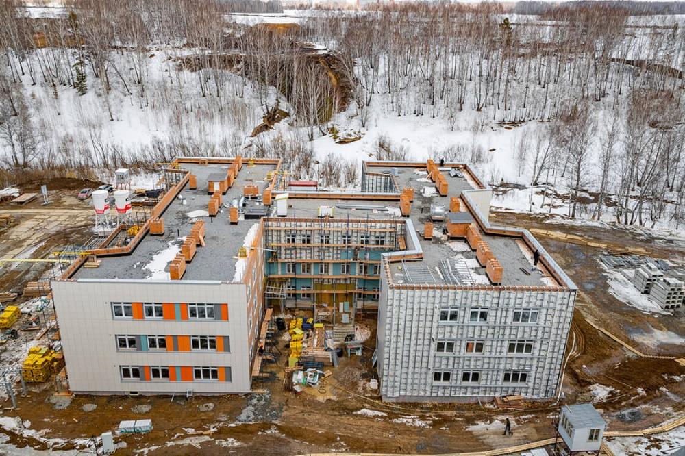 В Кольцово строится детский сад