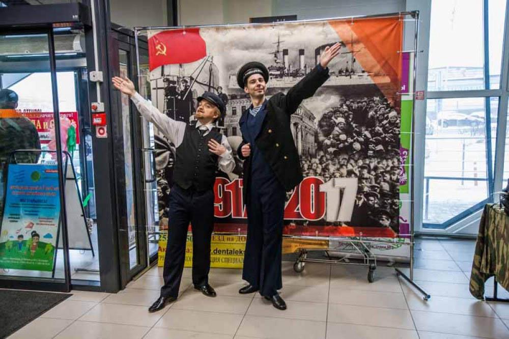 В «Стрижах» отпраздновали 100-летие революции