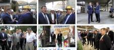 Анатолий Локоть на городских мероприятиях