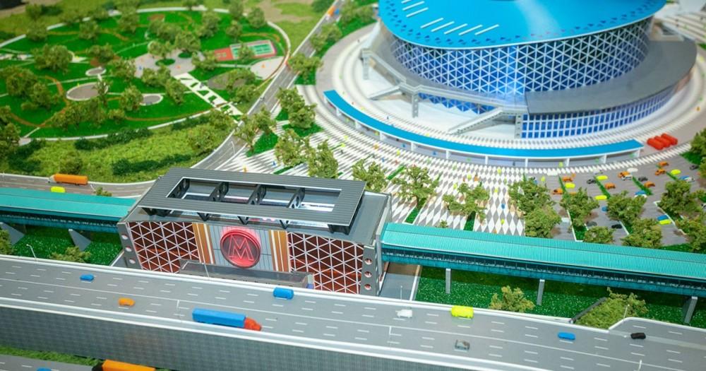 Главэкспертиза одобрила проект станции «Спортивная»