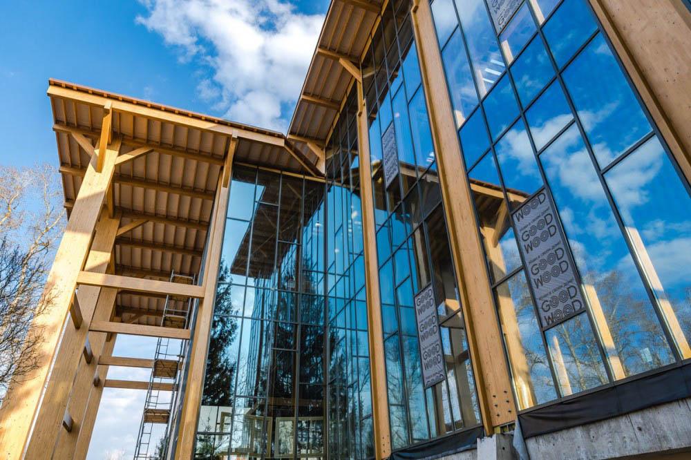 В Зеленограде построили самый высокий в стране офис из дерева