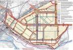Проектная схема транспортной инфраструктуры