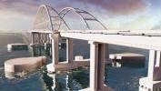 Визуализация Керченского моста