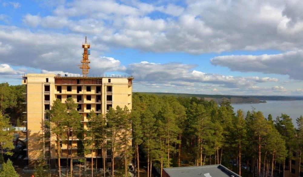 Близится к завершению строительство первого дома в «Речкуновском парке»