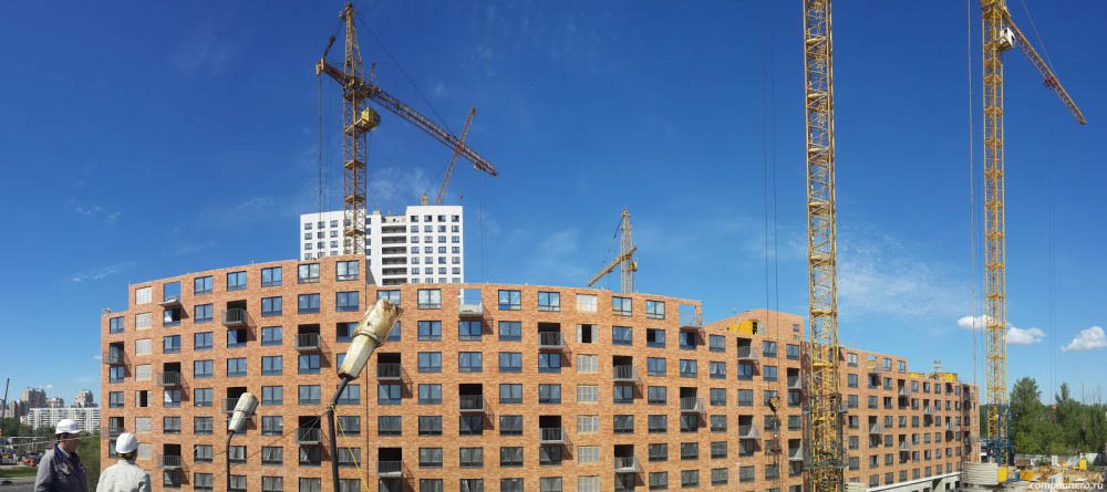 Более 50 млн. кв. м индустриального жилья может быть введено в 2018 году