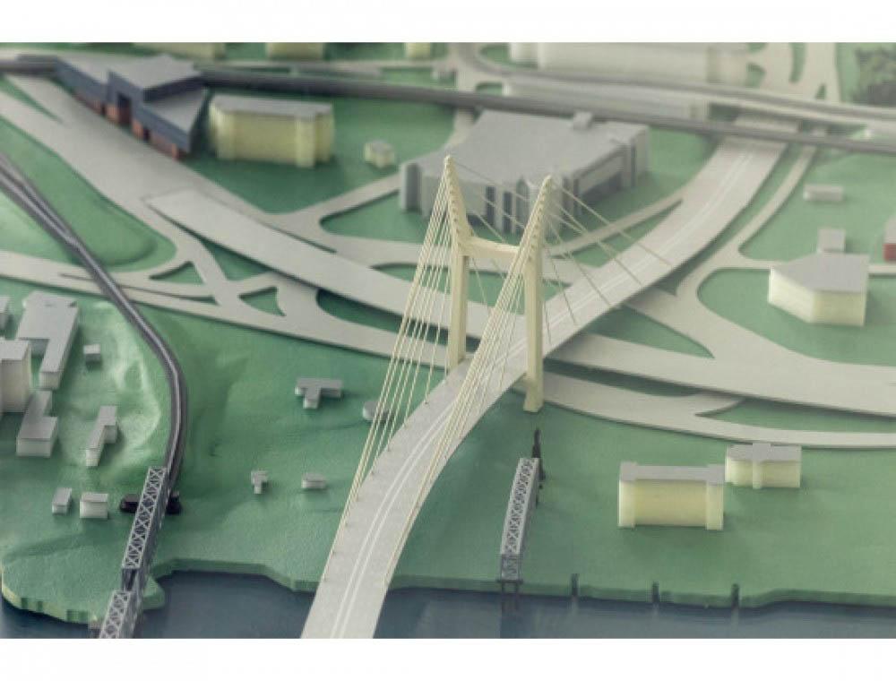 Четвертый мост Новосибирска позволит соединить городские магистрали и федеральную трассу
