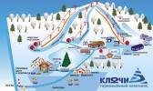 План горнолыжного комплекса «Ключи»
