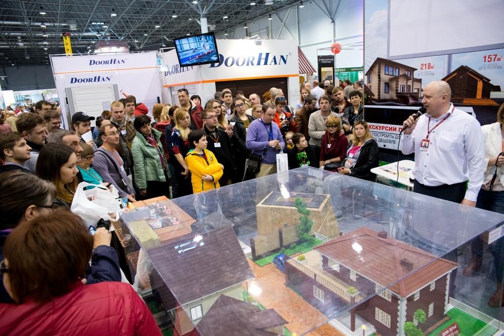 На выставке «Загородный дом» можно будет выбрать оборудование и материалы для строительства