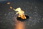 Сквер славы, вечный огонь