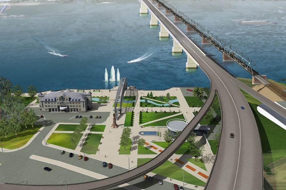 Четвертый мост в Новосибирске должен решить транспортные проблемы двух площадей на левом берегу